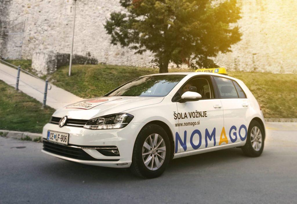 Nomago - Šola vožnje - vozilo